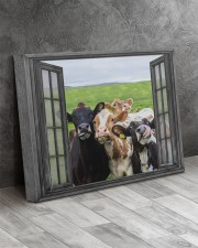 Cows 20x16 Gallery Wrapped Canvas Prints aos-canvas-pgw-20x16-lifestyle-front-08
