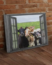 Cows 20x16 Gallery Wrapped Canvas Prints aos-canvas-pgw-20x16-lifestyle-front-09