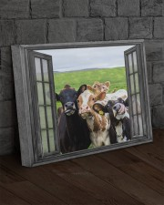 Cows 20x16 Gallery Wrapped Canvas Prints aos-canvas-pgw-20x16-lifestyle-front-11