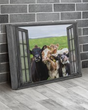 Cows 20x16 Gallery Wrapped Canvas Prints aos-canvas-pgw-20x16-lifestyle-front-12