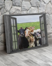 Cows 20x16 Gallery Wrapped Canvas Prints aos-canvas-pgw-20x16-lifestyle-front-13