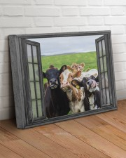 Cows 20x16 Gallery Wrapped Canvas Prints aos-canvas-pgw-20x16-lifestyle-front-14
