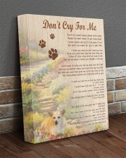 Custom Don't Cry For Me 11x14 Gallery Wrapped Canvas Prints aos-canvas-pgw-11x14-lifestyle-front-10
