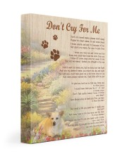 Custom Don't Cry For Me 11x14 Gallery Wrapped Canvas Prints front