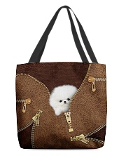 Pomeranians All-over Tote back