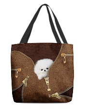 Pomeranians All-over Tote front