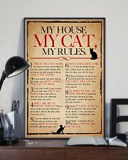 My House My Cat My Rules 11x17 Poster lifestyle-poster-2