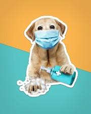 Labrador Wash Hands Sticker - Single (Vertical) aos-sticker-single-vertical-lifestyle-front-02