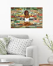 Black queen 10 24x16 Poster poster-landscape-24x16-lifestyle-01