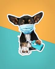 Chihuahua Wash Hands Sticker - Single (Vertical) aos-sticker-single-vertical-lifestyle-front-02