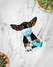 Chihuahua Wash Hands Sticker - Single (Vertical) aos-sticker-single-vertical-lifestyle-front-06