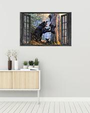 Bear 16 36x24 Poster poster-landscape-36x24-lifestyle-01