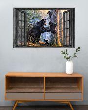 Bear 16 36x24 Poster poster-landscape-36x24-lifestyle-21