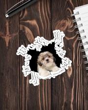 Shih Tzu  Crack Sticker - 4 pack (Vertical) aos-sticker-4-pack-vertical-lifestyle-front-05