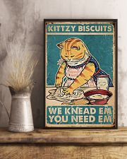Kittzy Biscuits 11x17 Poster lifestyle-poster-3