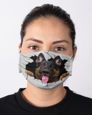 German Shepherd Crack Cloth face mask aos-face-mask-lifestyle-01