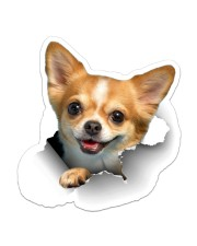 Chihuahua Crack Sticker - Single (Vertical) front