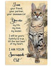 I Am Savannah 11x17 Poster front