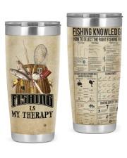 Fishing Knowledge 20oz Tumbler front