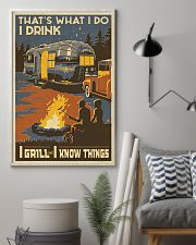I Grill And I Know Things 11x17 Poster lifestyle-poster-1