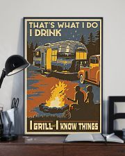 I Grill And I Know Things 11x17 Poster lifestyle-poster-2