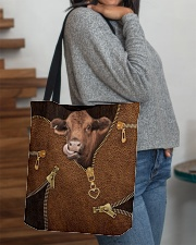 Cow All-over Tote aos-all-over-tote-lifestyle-front-09