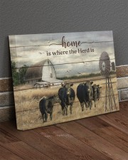 Cow farm 20x16 Gallery Wrapped Canvas Prints aos-canvas-pgw-20x16-lifestyle-front-10
