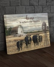 Cow farm 20x16 Gallery Wrapped Canvas Prints aos-canvas-pgw-20x16-lifestyle-front-11