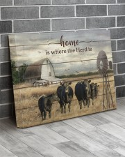 Cow farm 20x16 Gallery Wrapped Canvas Prints aos-canvas-pgw-20x16-lifestyle-front-12