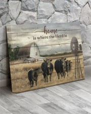 Cow farm 20x16 Gallery Wrapped Canvas Prints aos-canvas-pgw-20x16-lifestyle-front-13