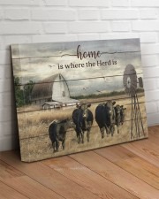 Cow farm 20x16 Gallery Wrapped Canvas Prints aos-canvas-pgw-20x16-lifestyle-front-14