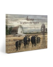 Cow farm 20x16 Gallery Wrapped Canvas Prints front