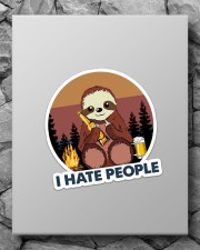 Sloth I Hate People Sticker - Single (Vertical) aos-sticker-single-vertical-lifestyle-front-09