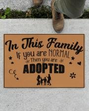"In this family Doormat 22.5"" x 15""  aos-doormat-22-5x15-lifestyle-front-01"