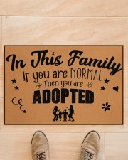"In this family Doormat 22.5"" x 15""  aos-doormat-22-5x15-lifestyle-front-02"