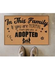 "In this family Doormat 22.5"" x 15""  aos-doormat-22-5x15-lifestyle-front-04"