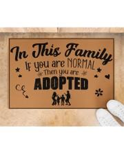 "In this family Doormat 22.5"" x 15""  aos-doormat-22-5x15-lifestyle-front-05"
