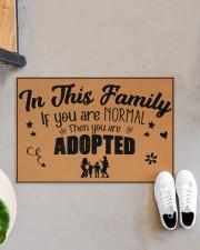 "In this family Doormat 22.5"" x 15""  aos-doormat-22-5x15-lifestyle-front-07"
