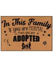 "In this family Doormat 22.5"" x 15""  front"
