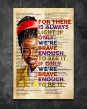 Brave enough 24x36 Poster aos-poster-portrait-24x36-lifestyle-12