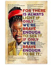 Brave enough 24x36 Poster front