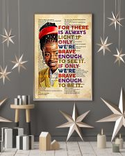 Brave enough 24x36 Poster lifestyle-holiday-poster-1