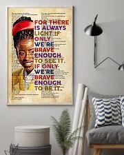 Brave enough 24x36 Poster lifestyle-poster-1