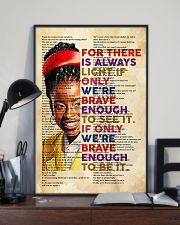 Brave enough 24x36 Poster lifestyle-poster-2