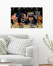 My black queen 24x16 Poster poster-landscape-24x16-lifestyle-01