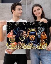 My black queen 24x16 Poster poster-landscape-24x16-lifestyle-21