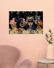 My black queen 24x16 Poster poster-landscape-24x16-lifestyle-23