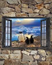 Penguin 3 17x11 Poster aos-poster-landscape-17x11-lifestyle-16