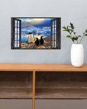 Penguin 3 17x11 Poster poster-landscape-17x11-lifestyle-24