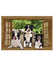Border Collie 36x24 Poster front